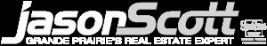 Jason Scott Grande Prairie's Real Estate Expert Logo Grey White