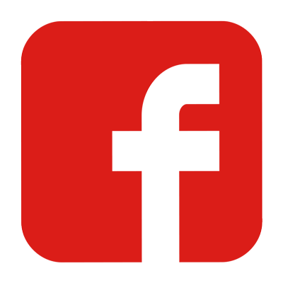 Facebook Logo Red