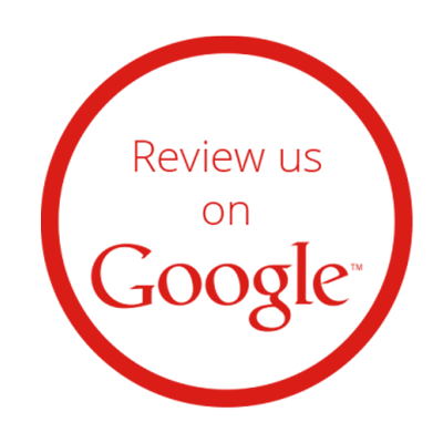 Review Us on Google Red Logo