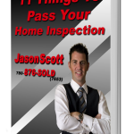 11 things to pass your home inspection book -Jason Scott Grande Prairie Real Estate Book Cover