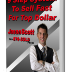 9 step system to sell fast for top dollar - book Jason Scott Grande Prairie Real Estate Book Cover